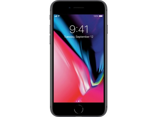 Smartfon Apple iPhone 8 Bluetooth WiFi GPS LTE 64GB iOS 11 szary