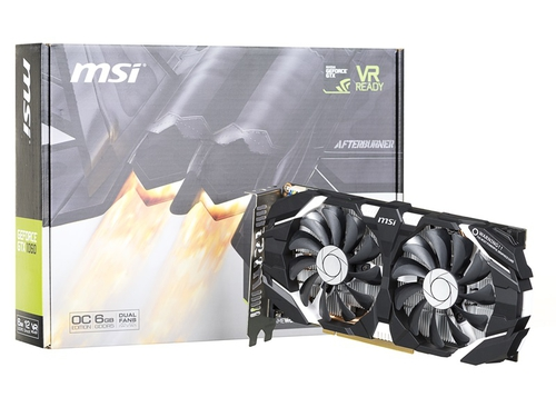 Karta graficzna MSI GeForce GTX1060 GTX 1060 6GT OCV1 6GB