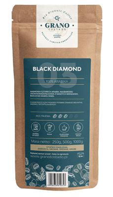 #Kawa ziarnista GranoTostado BLACK DIAMOND 1000g