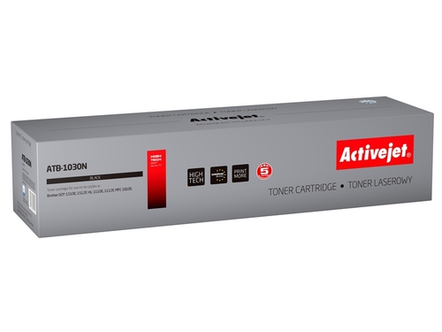Toner Activejet ATB-1030N do drukarki Brother, Zamiennik Brother TN-1030/TN-1050; Supreme; 1000 stron; czarny.