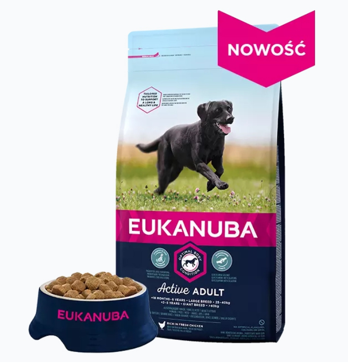 #EUKANUBA Adult Large Breed Chicken 15kg