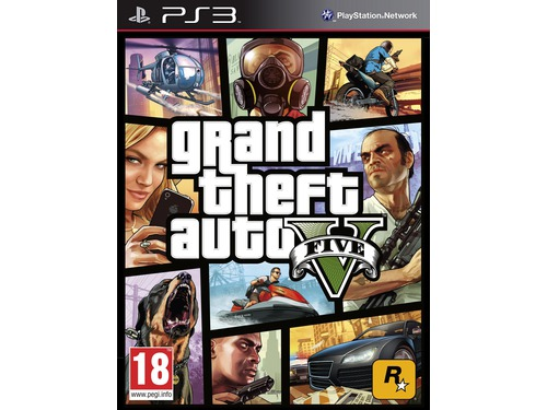 Gra PS3 Grand Theft Auto V wersja BOX
