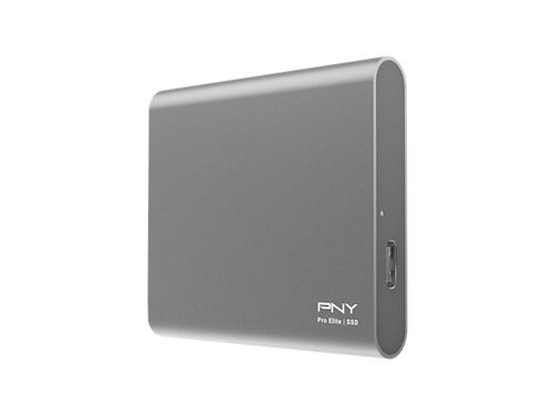 SSD PNY Pro Elite USB 3.1 Gen 2 250GB Portable - PSD0CS2060-250-RB