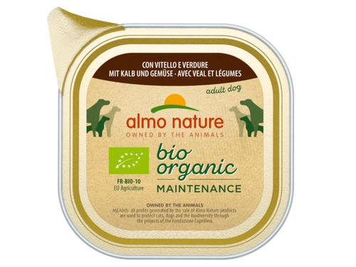 ALMO NATURE Daily Menu BIO Dog Cielęcina z war 100g