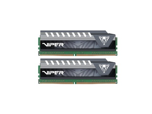 Patriot Viper Elite DDR4 2x4GB 3200MHz 1.35V - szary - PVE48G320C6KGY
