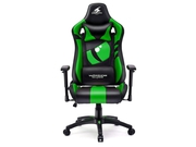 Warrior Chairs fotel gam. Dragon black/green + PODKŁADKA POD MYSZ I-BOX XXXL MPG4 - 5903293761052