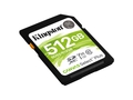 KINGSTON SDXC Canvas Select Plus 100R UHS-I U3 V30 - SDS2/512GB