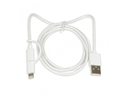 KABEL I-BOX ML2W1 USB-A/MICRO USB + LIGHTNING - IKUML2W1