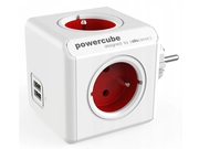Allocacoc Przedłużacz PowerCube Original USB Red - 2202RD/FROUPC