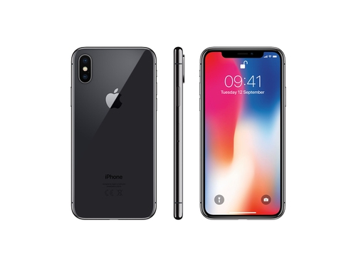 Smartfon Apple IPHONE X MQAC2GH/A GPS Bluetooth NFC LTE WiFi 64GB iOS 11 kolor szary
