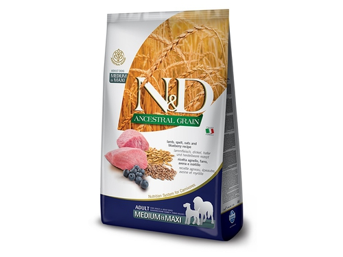 FARMINA N&D ANCESTRAL GRAIN DOG MEDIUM & MAXI 12kg - PND1200039
