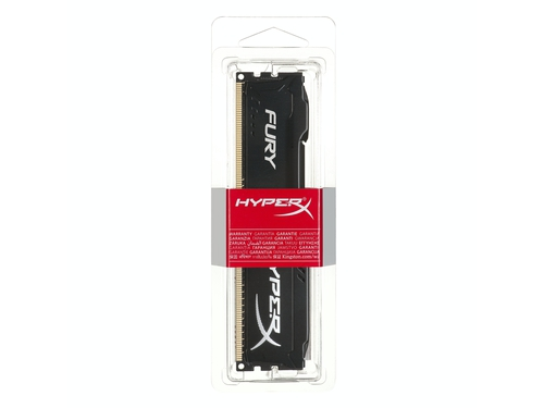 Pamięć RAM Kingston HyperX FURY DDR3 1600 MHz 8GB CL10 Czarny - HX316C10FB/8