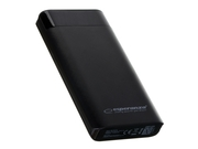 ESPERANZA POWER BANK 17400MAH CZARNY PHOTON - EMP120K