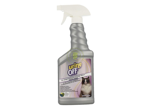 UrineOff Spray cat 500ml odour and stain remover