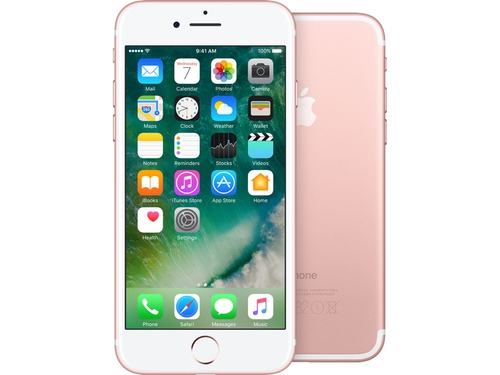 Smartfon Apple iPhone 7 32GB Rose Gold MN912CN/A Bluetooth WiFi NFC GPS LTE 32GB iOS 10 kolor złoty