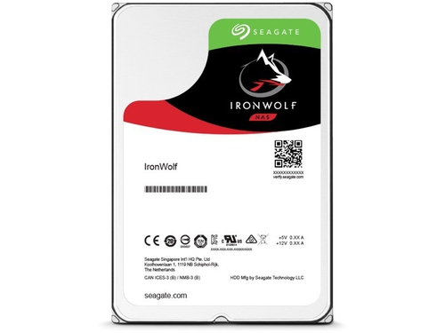 Dysk Seagate IronWolf, 3.5'', 6TB, SATA/600, 7200RPM, 128MB cache - ST6000VN0041