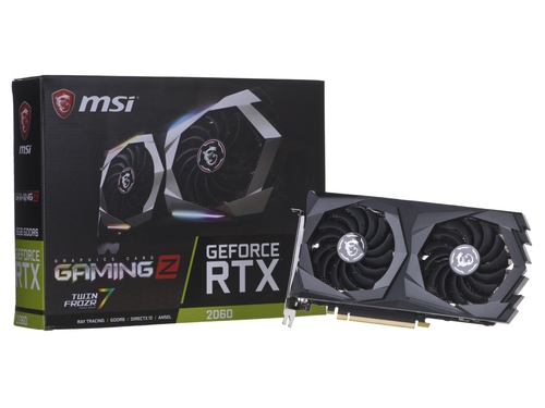 Karta graficzna MSI GeForce RTX 2060 RTX 2060 GAMING Z 6GB HDCP Support 6GB GDDR6 14000 MHz 192-bit