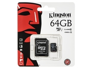 Karta pamięci z adapterem MicroSD Kingston 64GB Class 10 SDC10G2/64GB