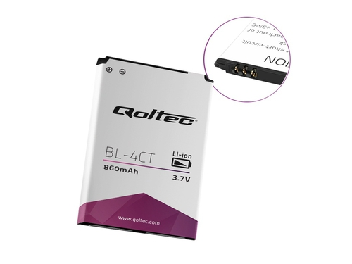 QOLTEC BATERIA DO NOKIA 5310 6700 X2 BL-4CT | 860MAH - 52010.BL-4CT