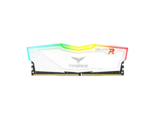 Team Group DDR4 2x8GB 3600MHz T-Force Delta RGB Whi - TF4D416G3600HC18JDC01