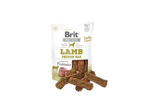 BRIT JERKY Lamb Protein Bar 80g