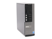 Komputer stacjonarny Dell OptiPlex 3020 Dell3020i3-41508120SSDDVDSFFW10 Core i3-4150 Intel HD 4400 8GB DDR3 SDRAM SSD 120GB Win10Pro Używany