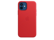 Apple iPhone 12 Pro Leather Case with MagSafe - (PRODUCT)RED - MHKD3ZM/A