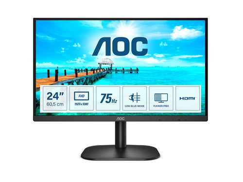 "MONITOR AOC LED 23.8"" 24B2XHM2"