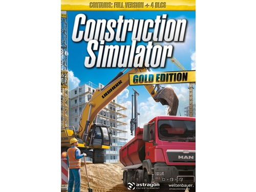 Gra PC Mac OSX Construction Simulator: Gold Edition ro wersja cyfrowa