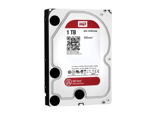 "Dysk HDD 1 TB WD Red Western Digital Red 3.5"" SATA III 64 MB WD10EFRX"