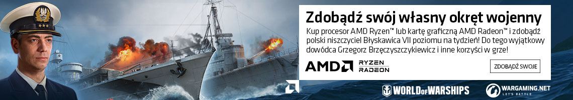 AMD Ryzen Radeon World of Warships