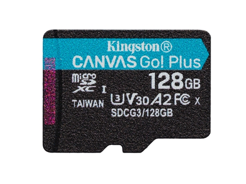 KINGSTON microSDXC Canvas Go Plus 128GB - SDCG3/128GBSP