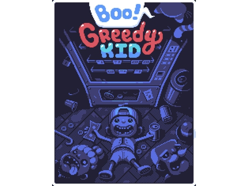 Boo! Greedy Kid - K00777