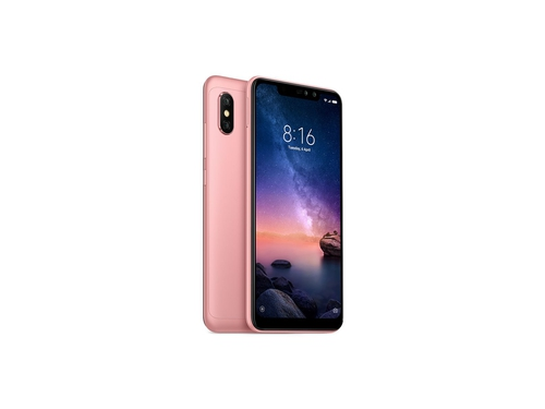Smartfon XIAOMI Note 6 Pro 64GB Bluetooth WiFi GPS LTE DualSIM 64GB Android 8.1 Rose Gold