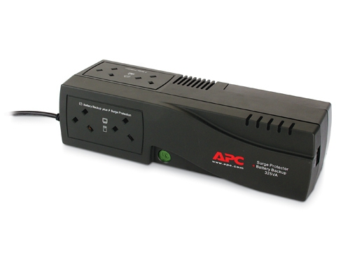 APC BE325-FR SurgeArrest + Battery Backup 325VA