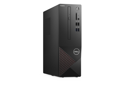 DELL Vostro 3681 i3 i3-10100 4 GB DDR4-SDRAM 256 GB SSD SFF Black, Red PC Windows 10 Pro - N502VD3681EMEA01_2101