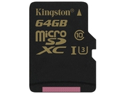 Karta pamięci MicroSDXC Kingston 64GB Class U3 SDCG/64GBSP