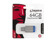 Pendrive Kingston DataTraveler 64GB USB 3.0 DT50/64GB