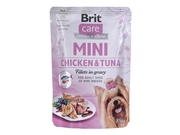 BRIT CARE Mini Pouch CHICKEN&TUNA 85g