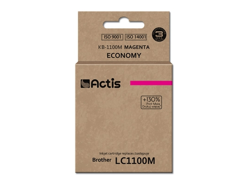 Actis tusz Brother LC1100/LC980 Magenta  KB-1100M
