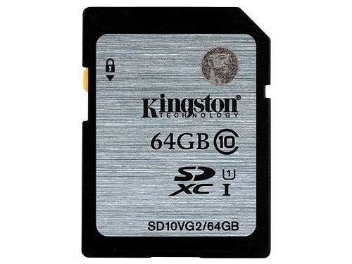 Karta pamięci Kingston SDHC SD10VG2 64GB - SD10VG2/64GB