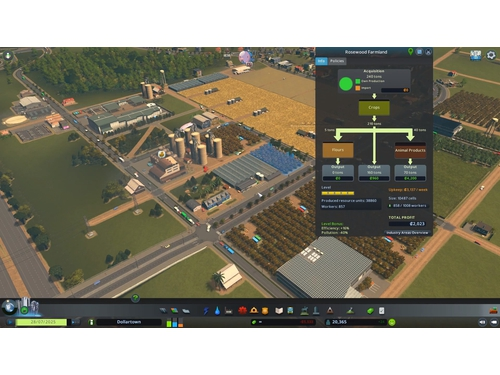 Gra PC Mac OSX Linux Cities: Skylines - Industries Plus wersja cyfrowa DLC