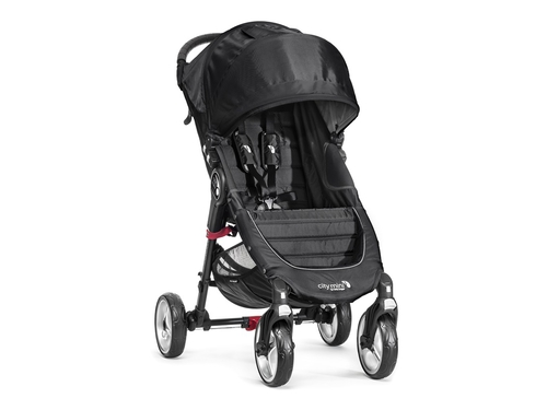 Baby Jogger wózek głęboko-spacerowy CITY MINI 4W Black - 745146104105
