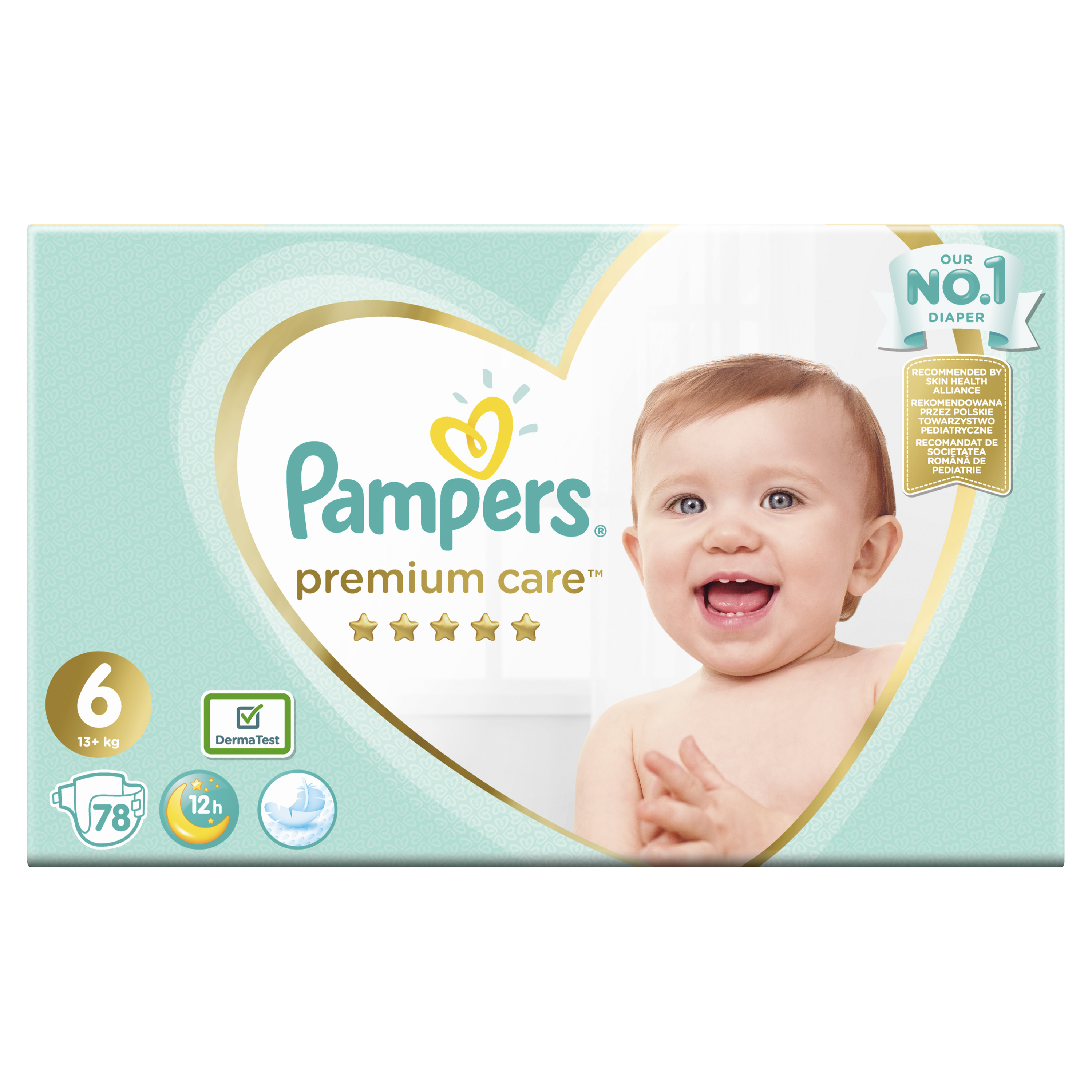 #Pampers pieluchy PC Mega Box S6 Extra Large 78szt