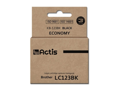 ACS tusz Brother LC123 Black KB-123Bk