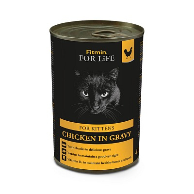 #FITMIN For Life cat tin chicken 415 g