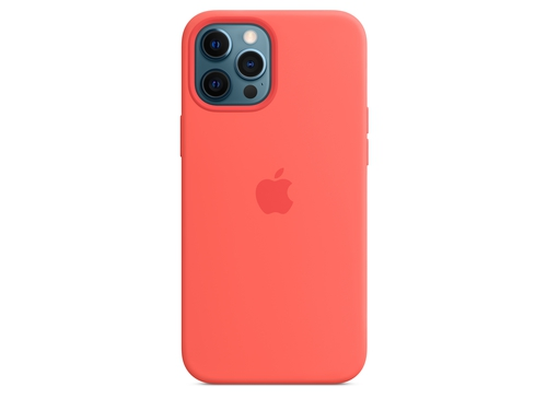 Apple iPhone 12 Pro Max Silicone Case with MagSafe - Pink Citrus - MHL93ZM/A