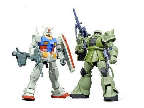 HGUC 1/144 GUNPLA STARTER SET VOL. 1 - GUN64268