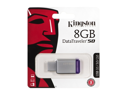 Pendrive Kingston DataTraveler 8GB USB 3.0 DT50/8GB