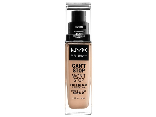 NYX Can't Stop Won't Stop Foundation-NATURAL